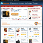 Online Coupon Business WordPress Theme